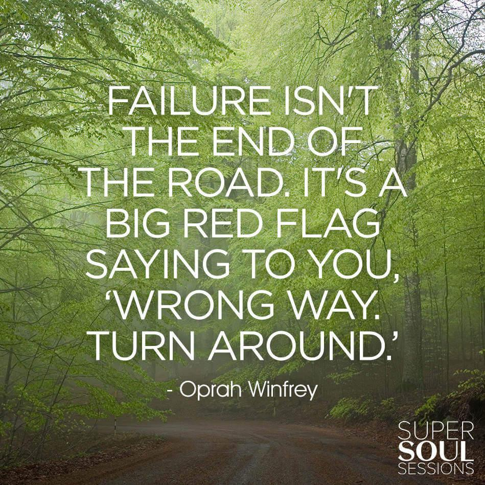 Изображение как относиться к неудачам