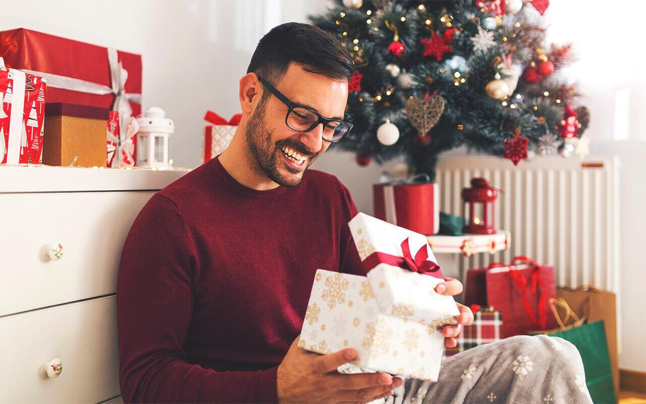 подарок любимому мужчине +на новый год