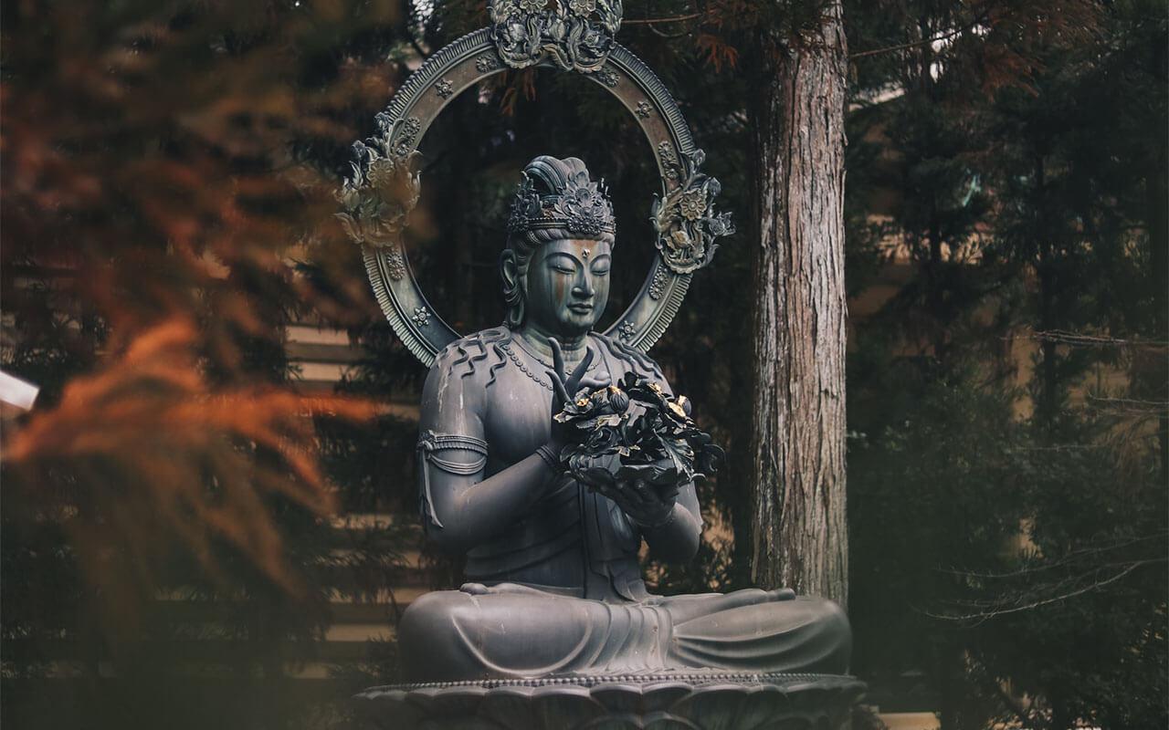 медитация будда