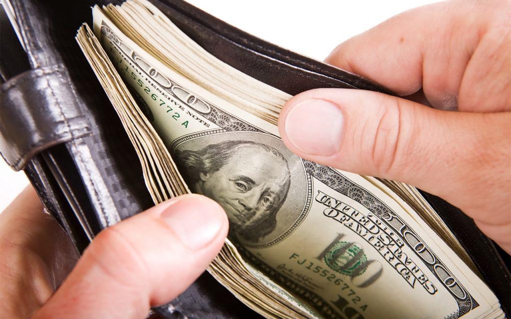 притянуть деньги